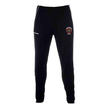 O'Neills Adults St. Michaels GAA Aston Skinny Pants - Black/White