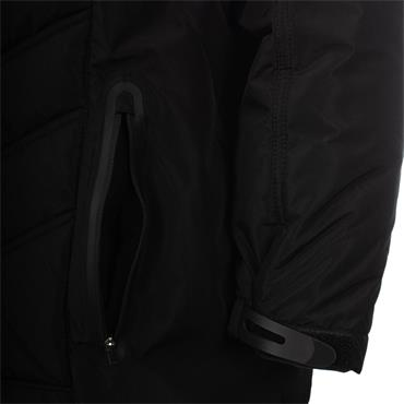 ADULTS ST MICHAELS PADDED JACKET - BLACK