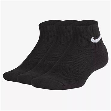 Nike Performance Cushioned Quarter Sock - Black