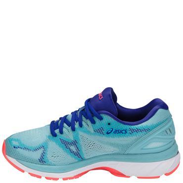 WOMENS GEL NIMBUS 20 RUNNING SHOE - BLUE