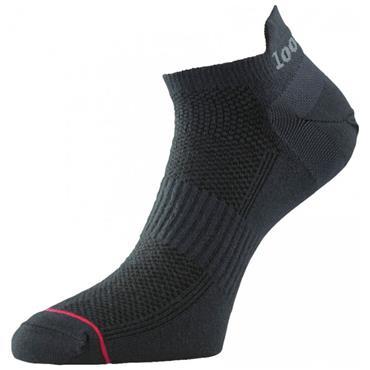 1000 Mile Womens Trainer Liner Socks - BLACK