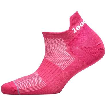 1000 Mile Womens Trainer Liner Socks - Pink