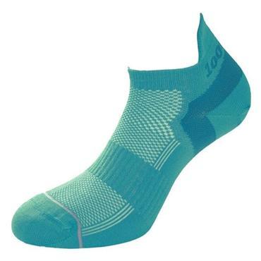 1000 Mile Womens Traine Linear Socks - Teal