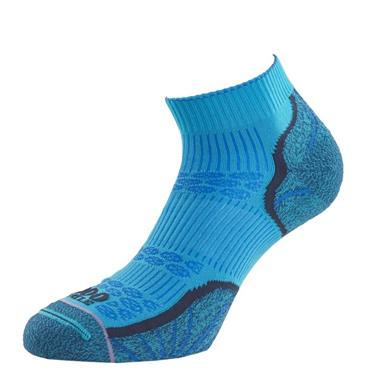 1000 Mile Mens Breeze Lite Multi Sport Sports Socks - Blue/White