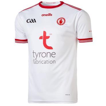 O'Neills Adults Tyrone GAA Home Jersey 19/20 - White