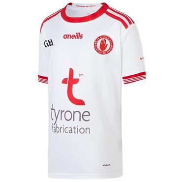 O'Neills Kids Tyrone GAA Home Jersey 19/20 - White