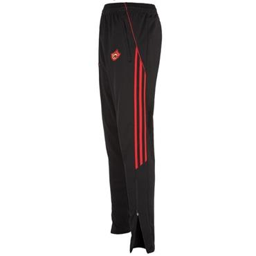 O'Neills Adults Urris GAA Aston Skinny Pants - Black/Red