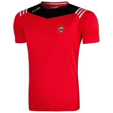 O'Neills Adults Urris GAA Colorado T-Shirt - Red