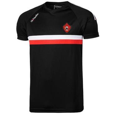 O'Neills Kids Urris GAA Rick T-Shirt - Black/Red
