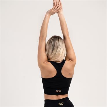 Gym Goddess Womens Venus Sportsbra - BLACK
