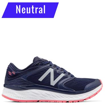 NEW BALANCE WOMENS 1080V8  RUNNING SHOE - NAVY