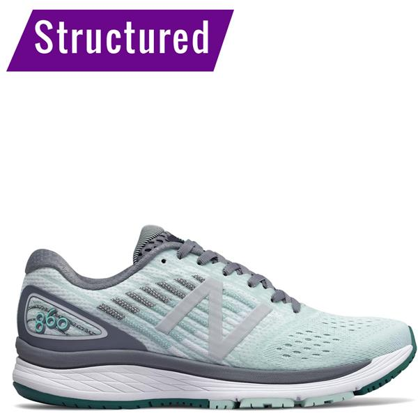 8b0997e2 New Balance Womens 860V9 Running Shoes - Mint
