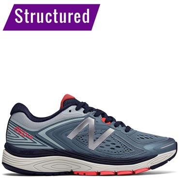 NEW BALANCE WOMENS 860V RUNNING SHOES - BLUE