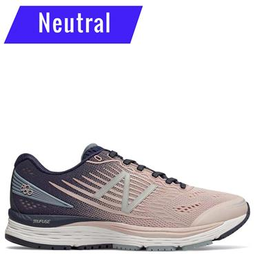 New Balance Womens 880v8 Running Shoe - Pink/Blue