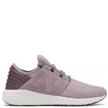 New Balance Womens Fresh Foam Cruz V2 Running Shoes - Purple/White