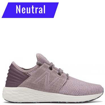New Balance Womens Fresh Foam Cruz V2 Running Shoes - Purple/White