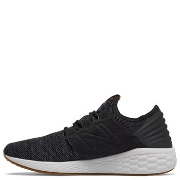 NEW BALANCE WOMENS FRESH FOAM CRUZ SHOES - BLACK