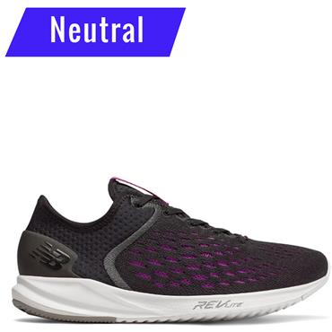 New Balance Womens Fuelcore 5000 Running Shoes - Black/Purple