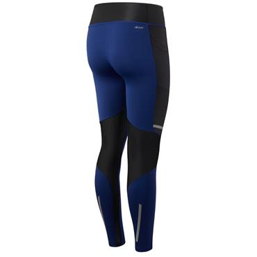 New Balance Womens Premium Printed Impact Leggings - Navy