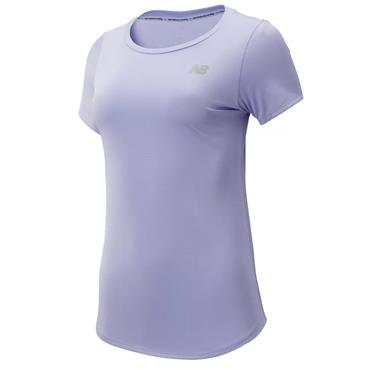 New Balance Womens Accelerate T-Shirt - Lilac