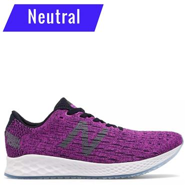 New Balance Womens Zante Prusuit Running Shoe - Purple/White