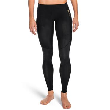 Skins Womens A400 Active Long Tights - Black
