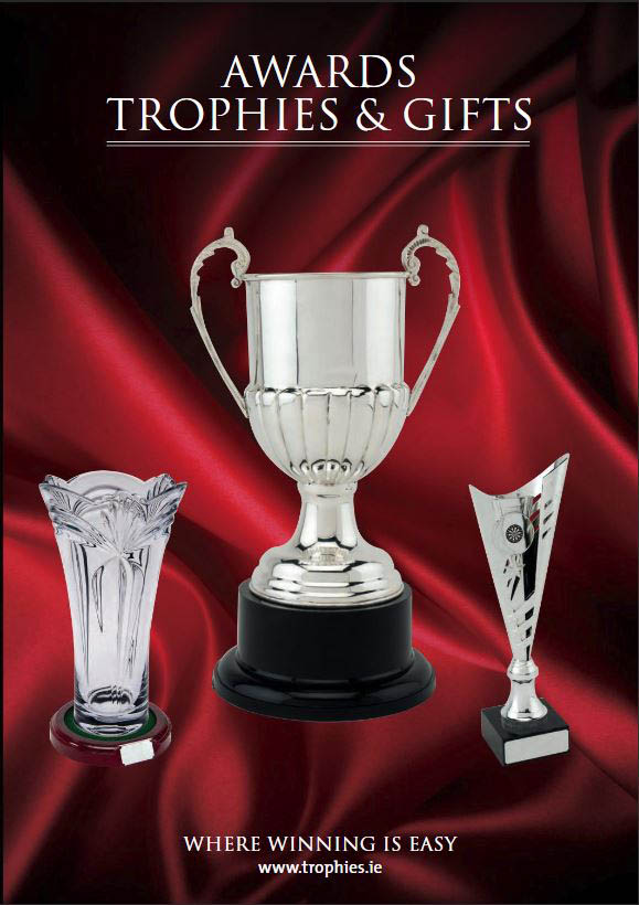 Trophies and medals catalogue cover