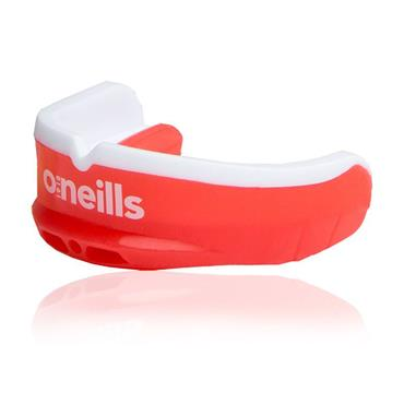 O'Neils Senior Gel Mouth Guard Red/White