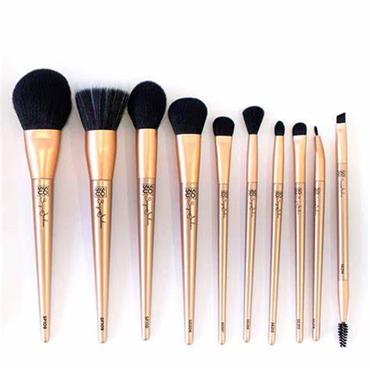 SOSU Luxury Brush Collection Gold 8 pce