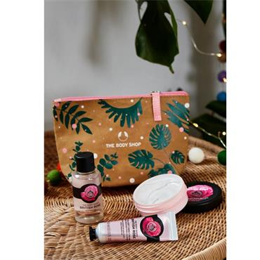 The Body Shop British Rose Gift Pouch