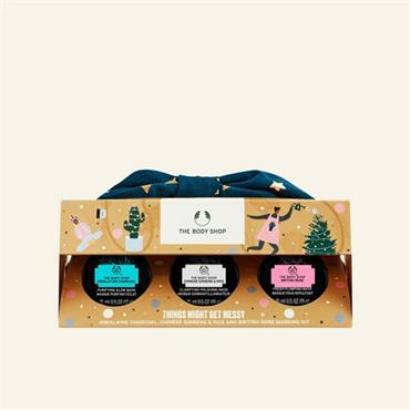 The Body Shop Things Might Get Messy Masking Kit