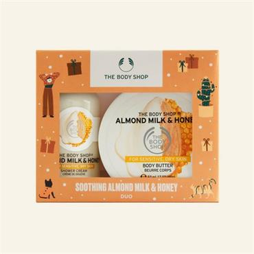 The Body Shop Soothing Almond Milk & Honey Duo