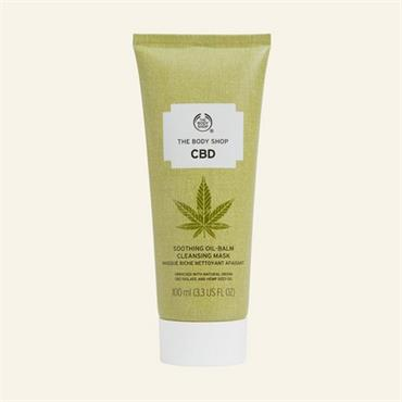 The Body Shop CBD Soothing Oil-Balm Cleansing Mask 100ml