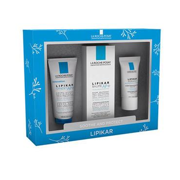 La Roche Posay Soothe & Protect Lipikar Set