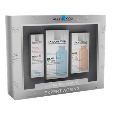 La Roche Posay Hydrates & Plumps Expert Ageing Set