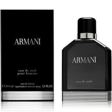 Armani Eau De Nuit Pour Homme Eau De Toilette 100ml