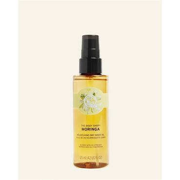 The Body Shop Moringa Nourishing Dry Body Oil 125ml