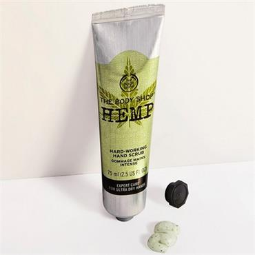 The Body Shop Hemp Hard Working Hand Scrub 75ml
