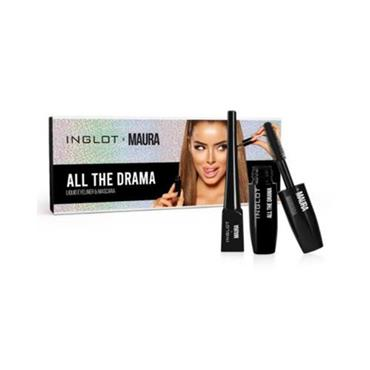 Inglot X Maura All The Drama Set