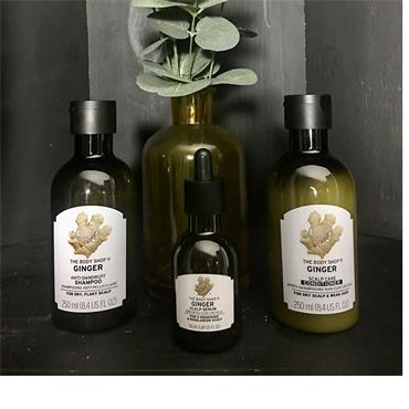 The Body Shop Ginger Haircare Hamper