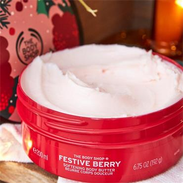 The Body Shop Festive Berry Softening Body Butter 200ml