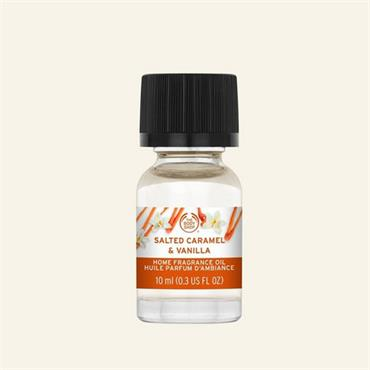 The Body Shop Home Fragrance Oil Salted Caramel & Vanilla 10ml