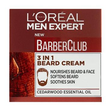 L'oreal Men Expert Barber Club 3in1 Beard Cream 50ml