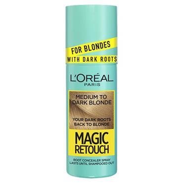 L'oreal Paris Magic Retouch - Medium To Dark Blonde 75ml