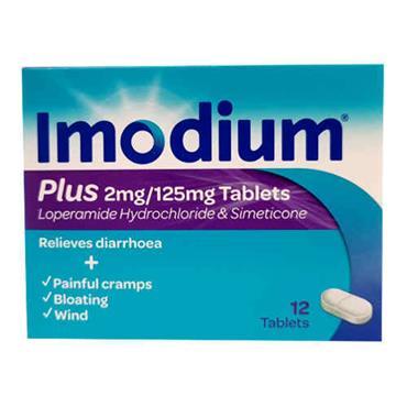 Imodium Plus Tabs 12's