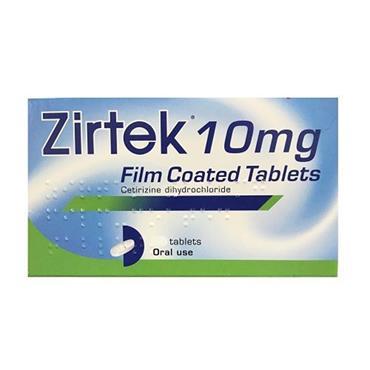 Zirtek Allergy Relief 7's