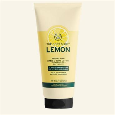 The Body Shop Lemon Protecting Hand & Body Lotion 200ml