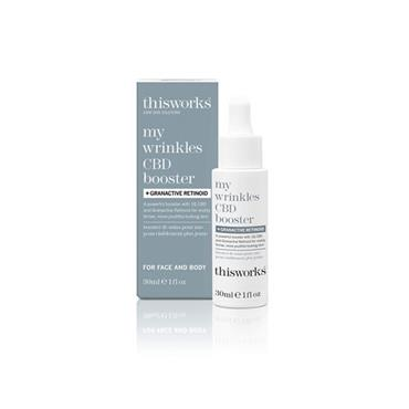This Works My Wrinkles CBD Booster + Bakuchiol 30ml