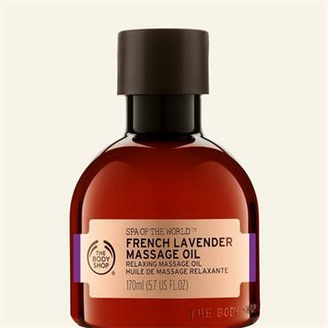 The Body Shop Spa Of The World French Lavender Massage Oil 170ml