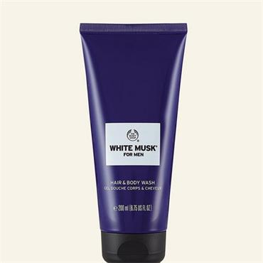 The Body Shop White Musk For Men Hair & Body Wash 200ml